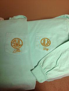 Comfort colors sorority big little shirt by shana Sigma Alpha Omega, Phi Sigma Sigma, Delta Phi Epsilon, Kappa Alpha Theta, Tri Delta, Alpha Chi, Kappa Delta, Phi Mu, Chi Omega