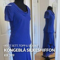 Se hva jeg selger på Tise One Shoulder, Shoulder Dress, Short Sleeve Dresses, Dresses With Sleeves, Vintage, Fashion, Moda, Sleeve Dresses, Fashion Styles