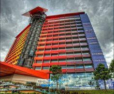 Hotel Silken Puerta America en la Avenida de America - Foto: Fco.Javier Bravo Tarifa