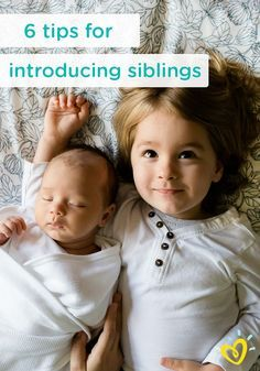 Help make the introduction easier for your little one's older siblings with these 6 tips. From simple things like letting your new baby's siblings know you're pregnant  early on, to allowing them to help take care of your newborn with simple and loving tasks, you can make this time of transition a time of growth, pride, and fun for your little  family.