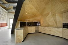 Red Bull Corp. Headquarters by Sid Lee Architecture.
