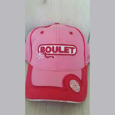 NEW Boulet Boot Co. Hot Pink Logo Baseball Cap Brand new. Missing tags. Adjustable. Boulet Accessories Hats