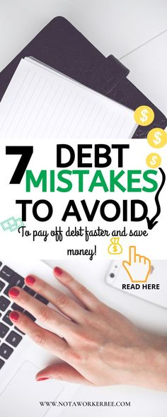 Are you trying to get out of debt? Here are Mistakes You Should Avoid When Paying Off Debt. Use the snowball effect to pay off debt. Pay Debt, Debt Payoff, Debt Repayment, Budget Help, Paying Off Credit Cards, Get Out Of Debt, Savings Plan, Managing Your Money, Financial Tips