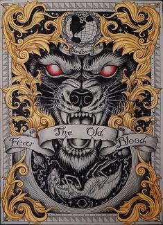 Thai Art, Bloodborne, Body Tattoos, Line Art, Devil, Tattoo Ideas, Fiction, Japanese, School