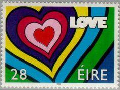 Stamp: LOVE (Ireland) (LOVE) Mi:IE 780,Yt:IE 783,Sg:IE 831