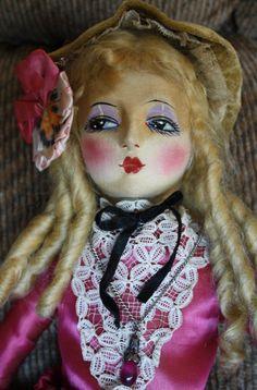 Wow! Etta boudoir doll on Ebay