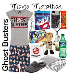 """""""Movie Marathon: Ghostbusters"""" by disney49 ❤ liked on Polyvore featuring Uniqlo, Intelligent Design, Dearfoams and River Island"""