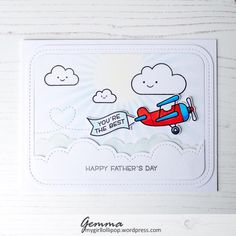 Just a quick post today to share the Fathers Day card I made for my wonderful Dad. I used some fab Lawn Fawn and MFT products on this card. The recently released Plane and Simple stamp set is such …