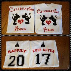 Anniversary Shirts for Disney