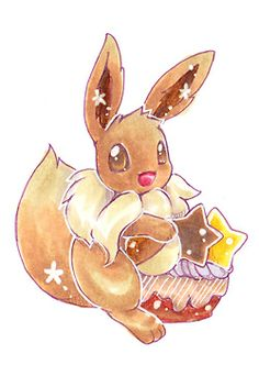 pokemon cute adorable kawaii pixiv fan art eevee flareon vaporeon espeon umbreon leafeon glaceon eeveelutions eeveelution not my art Sylveon pokepuff jotleon