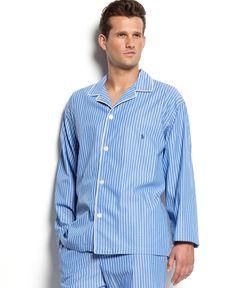 Polo Ralph Lauren Men's Pajamas, Manhattan Striped Top