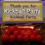 A kickball themed birthday party is so easy to create. Minimal decorations are needed since the majority of the party is outside.