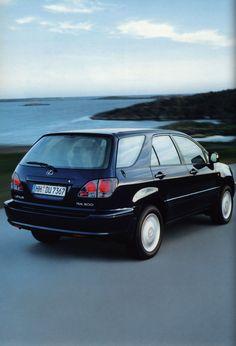 https://flic.kr/p/FQ6XrU | Lexus RX300;  2001_2 | car brochure by worldtravellib World Travel library