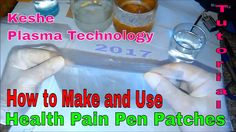 HOW TO MAKE AND USE THE HEALTH PAIN PEN PATCHES -  TUTORIAL - KESHE PLAS...