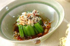 小松菜のネギ油がけ【E・レシピ】料理のプロが作る簡単レシピ/2007.04.30公開のレシピです。