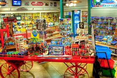 Neatest shop ever.  Casey Jones Train Store, the Museum store at Casey Jones Home & Railroad Museum.  Jackson, Tennessee.