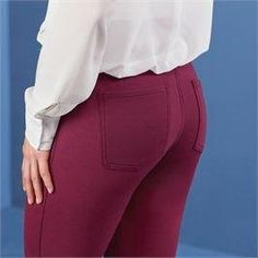 Mud Pie Hunter Ponte Knit Leggings Pants Burgundy Small ** You could discover more details by checking out the picture web link. (This is an affiliate link). Knit Leggings, Knit Pants, Leggings Are Not Pants, Dress Pants, Mud Pie, Bermuda Shorts, Burgundy, Link, Dresses