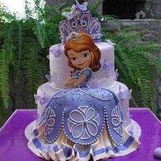 65 Ideas Birthday Cake Kids Girls Sofia For 2019 Princess Sofia Cake, Princess Sofia Birthday, Birthday Cake Girls, Princess Party, Disney Princess, Birthday Cakes, Birthday Ideas, Bolo Sofia, Sophia Cake