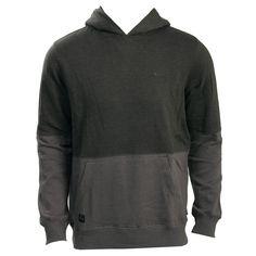 Quiksilver Mens Sweatshirt Block It Down Gunsmoke