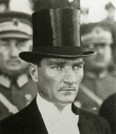 Ataturk. Who knew he was a hottie?