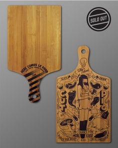 Mcbess - The Board - Cutting Board