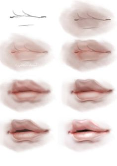 Another free High Res psd release of my step by step lip painting process. I felt that my old lip tutorial was complete garbage. Digital Painting Tutorials, Digital Art Tutorial, Art Tutorials, Body Drawing, Daily Drawing, Realistic Drawings, Art Drawings, Digital Art Beginner, Digital Art Girl