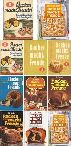 """""""Backen macht Freude"""" von Dr. Oetker 85 Jahre deutsche Küchengeschichte"""