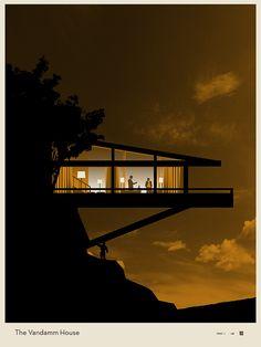 north by northwest vandamm house google search plan. Black Bedroom Furniture Sets. Home Design Ideas