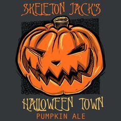 Skeleton Jack's Halloween Town Pumpkin Ale