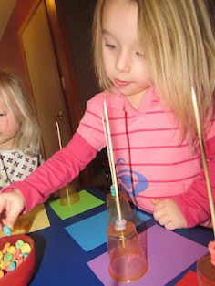 Brilliant...this may keep toddlers concentration and it helps with fine motor skills and  they can eat fruitloops