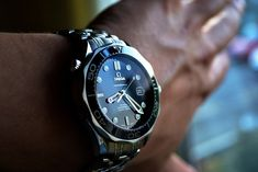 Dream Watches, Fine Watches, Luxury Watches, Cool Watches, Rolex Watches, Watches For Men, Omega Diver, Omega Seamaster Diver 300m, Omega Seamaster Professional