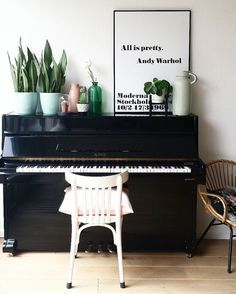 My Living Room: Piano styling by fijn in huis
