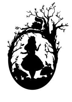 Disney canvas art silhouettes alice in wonderland Trendy Ideas Alice In Wonderland Silhouette, Alice In Wonderland Shirts, Alice In Wonderland Drawings, Silhouettes Disney, Disney Silhouette Art, Disney Fantasy, Canvas Art, Canvas Prints, Art Prints