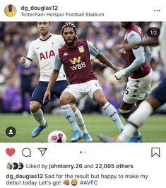Tottenham Hotspur Football, Football Stadiums, Aston Villa, Letting Go, Baseball Cards, Sports, Hs Sports, Aston Villa F.c., Lets Go