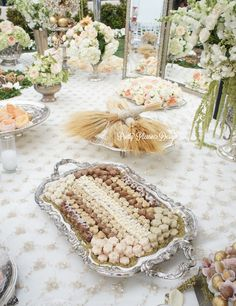A pretty please - fancy that - tic tock - sofreh aghd collaboration… Wedding Reception Decorations, Wedding Themes, Wedding Designs, Wedding Table, Wedding Events, Wedding Ideas, Iranian Wedding, Persian Wedding, Haft Seen