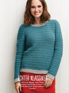 Anleitung Zum Pullover Häkeln Valentinahaekelt Crochet Crochet
