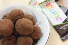 Probiotic Beet and Almond Truffles