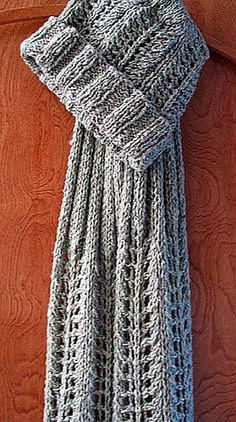 Moss Rock Lace Scarf and Hat - Ravelry