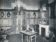 The Queen's Private Audience Chamber at Windsor Castle', . The Queens Private Audience Chamber at Windsor Castle, situated close to her private sitting room, where Queen Victoria asked Prince. Victorian Parlor, Old Victorian Homes, Victoria Queen Of England, Queen Victoria, Buckingham Palace Floor Plan, Photo Gallery Hallway, Victorian Terrace Interior, Castle Floor Plan, Windsor Castle