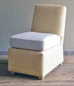 Merveilleux Billy Baldwin   Small Slipper Chair
