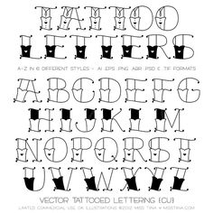 Tattoo alphabet tattoo alphabet american traditional and new font tattooed letters valentines goodies tattoo alphabetfont thecheapjerseys Image collections