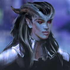 Alien Character, Character Creation, Character Concept, Character Art, Character Design, Dnd Characters, Fantasy Characters, Female Characters, Fantasy Demon
