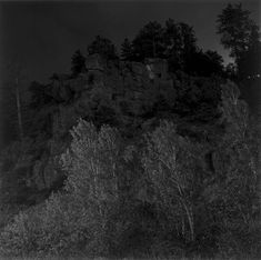Robert Adams, Summer Nights, Walking. A collection of nocturnal landscapes that he began making in the mid-1970s near his former home in Longmont, Colorado.