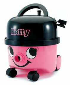 Little Hetty Vacuum by Casdon Toys. $34.99. From the Manufacturer                Casdons' Little Hetty Vacuum is a direct replica of the real thing. Now your children can join in house-cleaning fun. With its cheery, pink face and friendly smile, it'll become a valued member of the family in no time.  This Little Hetty really works, picking up small bits of paper waste or small Poly Beads. The waste is then sucked up into a removable drawer, which is quick and simp...