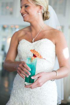 #MartinaLianaBride #SomethingBlue #Cheers