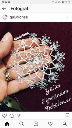 Needle Tatting, Needle Lace, Xmas Crafts, Diy And Crafts, Crochet Unique, Point Lace, Fabric Manipulation, Filet Crochet, Pedi