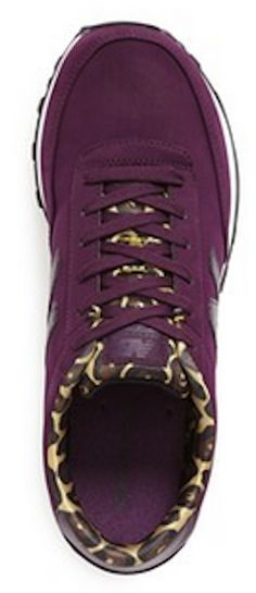 Loving the leopard print lining of these New Balance sneakers http://rstyle.me/n/u4gpmnyg6
