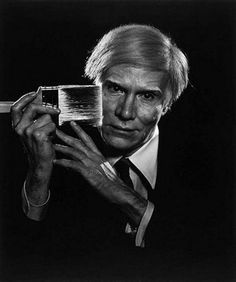 Andy Warhol by Yousuf Karsh b.1908-2002 Karsh photographed powerful figures. He was an expert at lighting. His portraits are formal, staged and he used props and visual clues to the sitters profession.