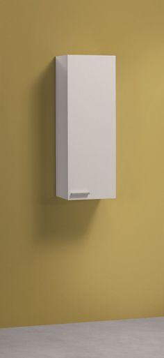 Koncept Tall Narrow Bathroom Cupboard Storage Cabinet soft Gloss White, Ash Grey | eBay