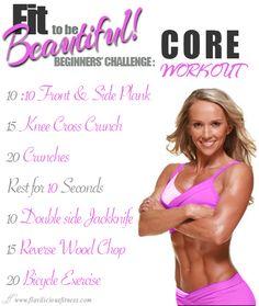 Workout Wednesday –  Core Cutting Workout